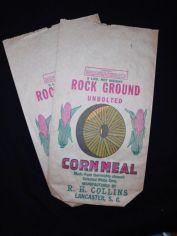 cornmeal sack